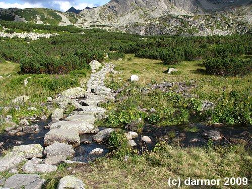 Kamienna ścieżka w Tatrach