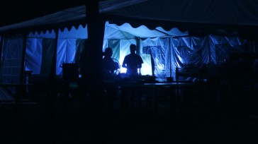 Kuchnia nocą.