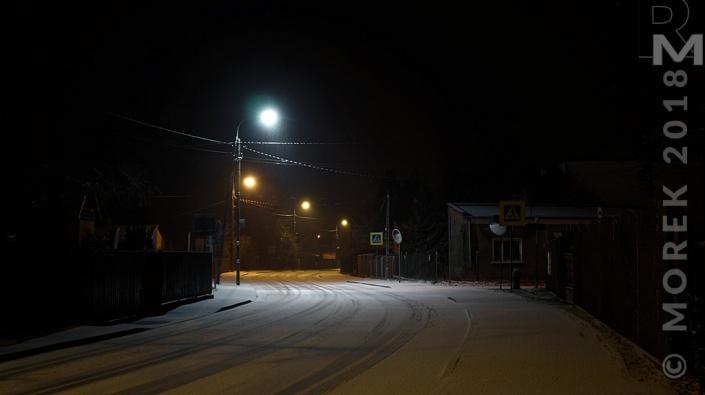 Wólka nocą - Czy poza światłem jest bezpiecznie. Tajemnicze przejście.