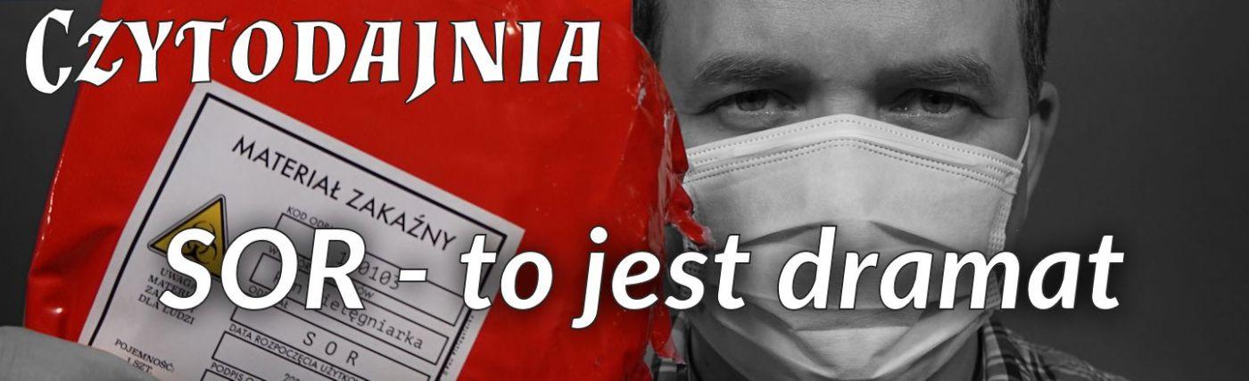 czytodajnia_sor - to jest dramat - pan pielęgniarka